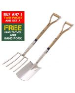 Bulldog Digging Fork and Spade TWIN PACK