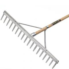 "Bulldog Hay Rake 72"" - Alloy Head - Hardwood Handle - 0246187280"