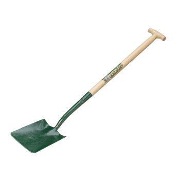 "Bulldog Square Mouth Shovel 36"" - No.000 - Ash T Handle - 5202033610"