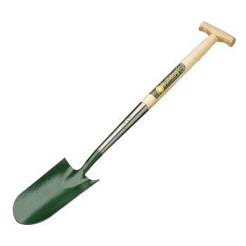 """Bulldog Rabbiting / Planting Spade 28"""" - Ash T Shaped Handle - 5514T28N"""