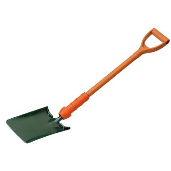 """Bulldog Insulated Square Trench Shovel 28"""" - Treaded - PD5TS2INR"""