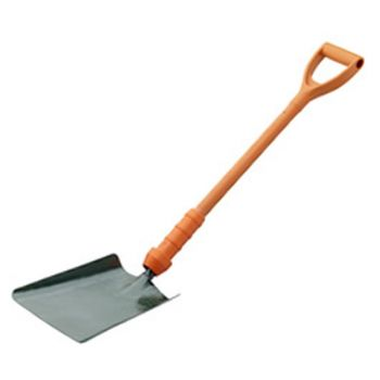 Bulldog Power Breaker Insulated Square Mouth Shovel 28 - No.2 - New Style - PD5SM2IN