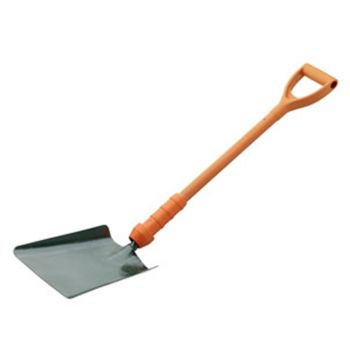 Bulldog Insulated Square Mouth Shovel 28 - Treaded - No.2 - New Style - PD5SM2INR