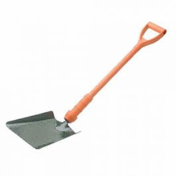 """Bulldog Insulated Taper Mouth Shovel 28"""" - Treaded - Fibreglass D Handle - No.2 - New Style - PD5TM2INR"""